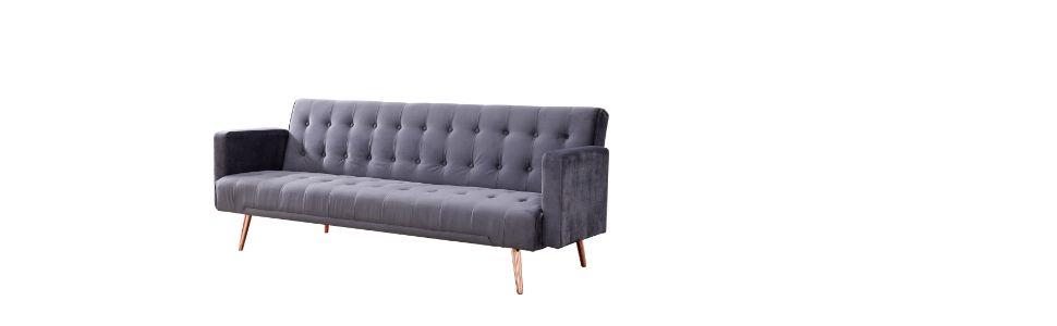 Polyster Fabric Metal Legs Pillow Top  soft reclining  stand home sleep premium super comfort