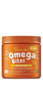Zesty Paws Omega Bites