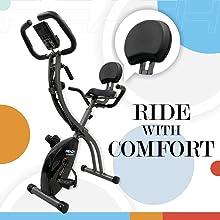 back support reach contempo folding bike