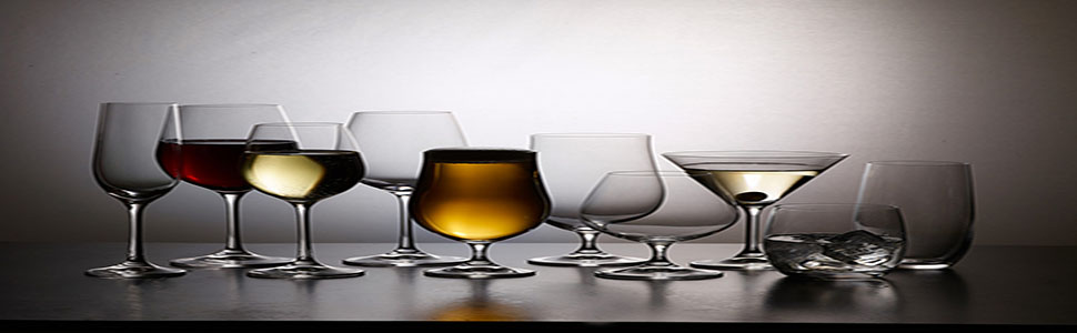 drinking glasses set of 6