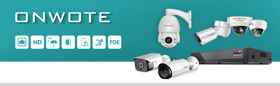 24//7 Video Audio Surveillance Kit ONWOTE 4K 8MP 8CH NVR PoE Security Camera System 2TB HDD Outdoor Wired Dome 5MP PoE IP Cameras Smart Human Body Detection, 6