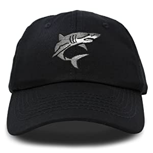 great white shark hat color options