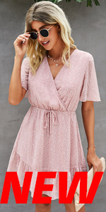ECOWISH Chiffon Dress