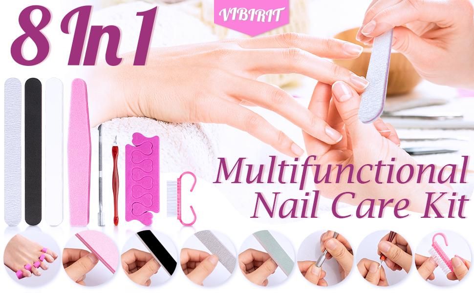 8 in 1 nail care kit