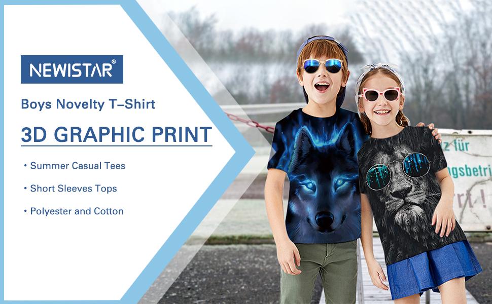 Camisetas gráficas 3D.