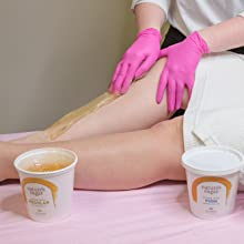 nature's sugar wax sugaring paste vegan cruelty free hair removal sensitive skin how to apply use
