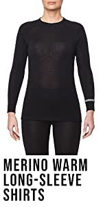 Thermowave Xtreme Womens Merino Wool Base Layer Turtle Neck /½ Zip