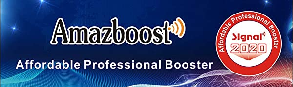 Amazboost cell phone signal booster