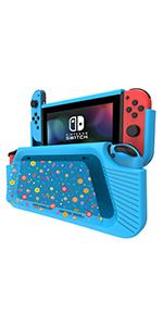 COODIO Volante y Grip Switch Joy-Con, Switch Joy-Con Racing Wheel Volante, Mandos Grip Joy-Con para Mario Kart Juegos / Joy-Con Mandos Nintendo Switch, Gris (Pack de 4 Deluxe): Amazon.es: Videojuegos