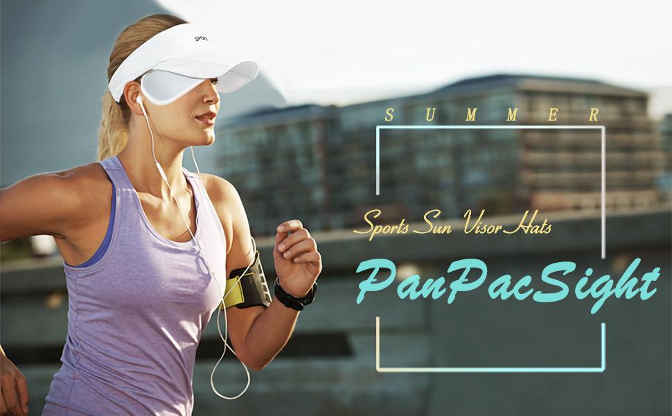sun sport visor hat UV protection