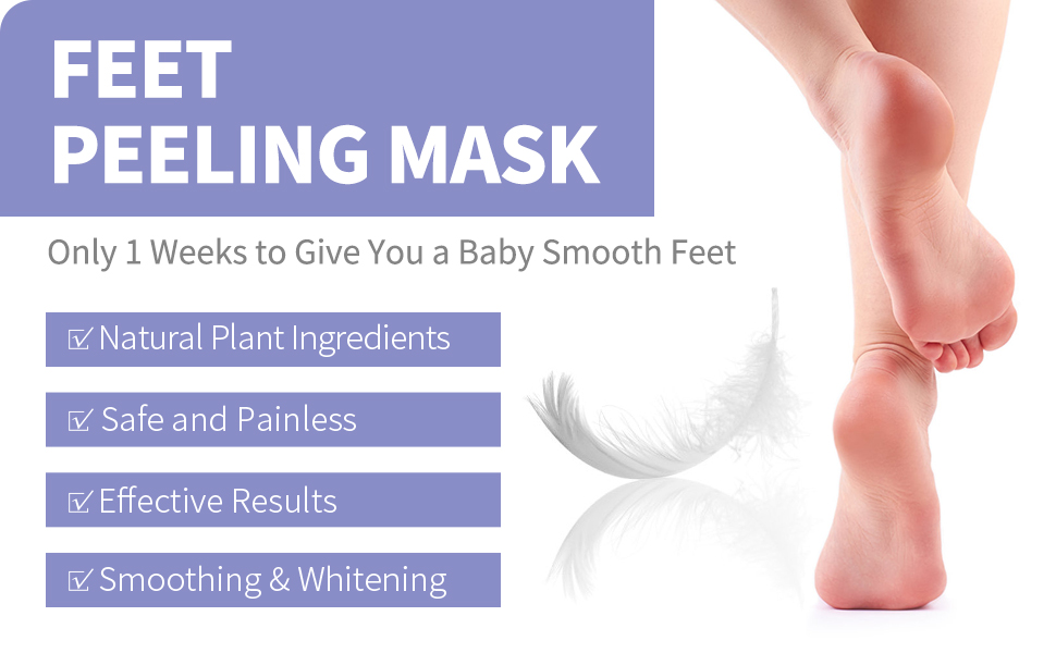 Feet peeling mask