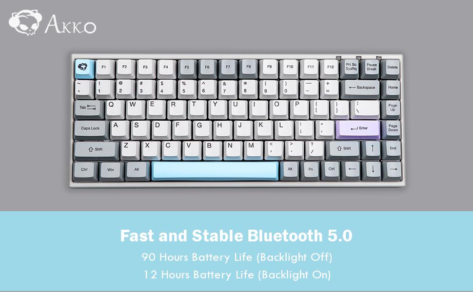 bluetooth keyboard, wireless keyboard, akko keyboard, epomaker