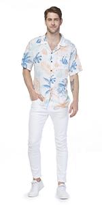 Hawaii Hangover Aloha Shirt in Sandy Beach Hawaiian Style Men