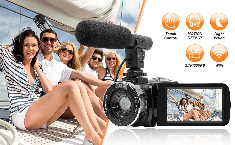 2.7K UHD Digital Video Camera