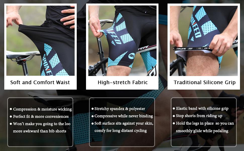 cycle shorts padded
