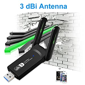 WiFi ADual Antennasdapter for PC