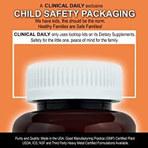CLINICAL DAILY Safely Packed Products  with validity
