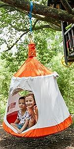 Space capsule tent-Orange