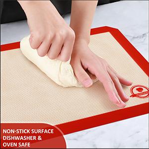silione baking mat set