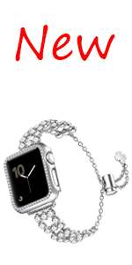 Bling iwatch band