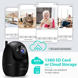 Flashandfocus.com 84d14a30-4ed4-4372-b274-40338fe88e8b.__CR0,0,1280,1280_PT0_SX300_V1___ Dog Camera, 1080P FHD 2.4GHz WiFi Pet Camera , Indoor Security Camera for Pet/Baby/Nanny, AI Human Detection, Night…