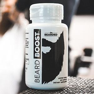 Beard Growth Vitamins for Men