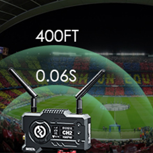 400ft 60ms Incredibly Low Latency