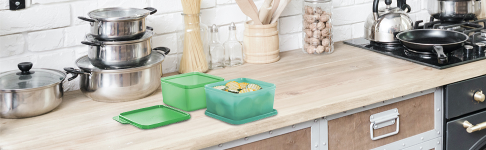 Tupperware Dry Storage Containers
