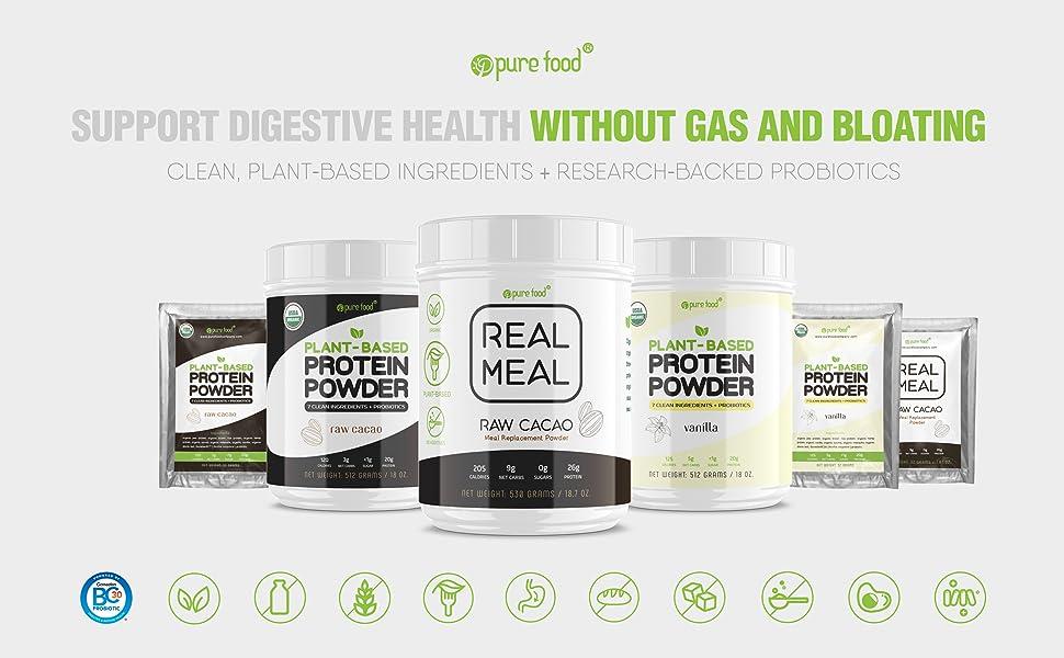 digestive health protein powder