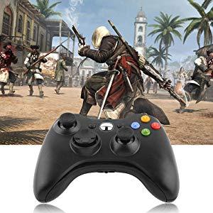 Controller di gioco per Xbox 360 Gamepad da gioco con cavo USB con pulsanti sulle spalle