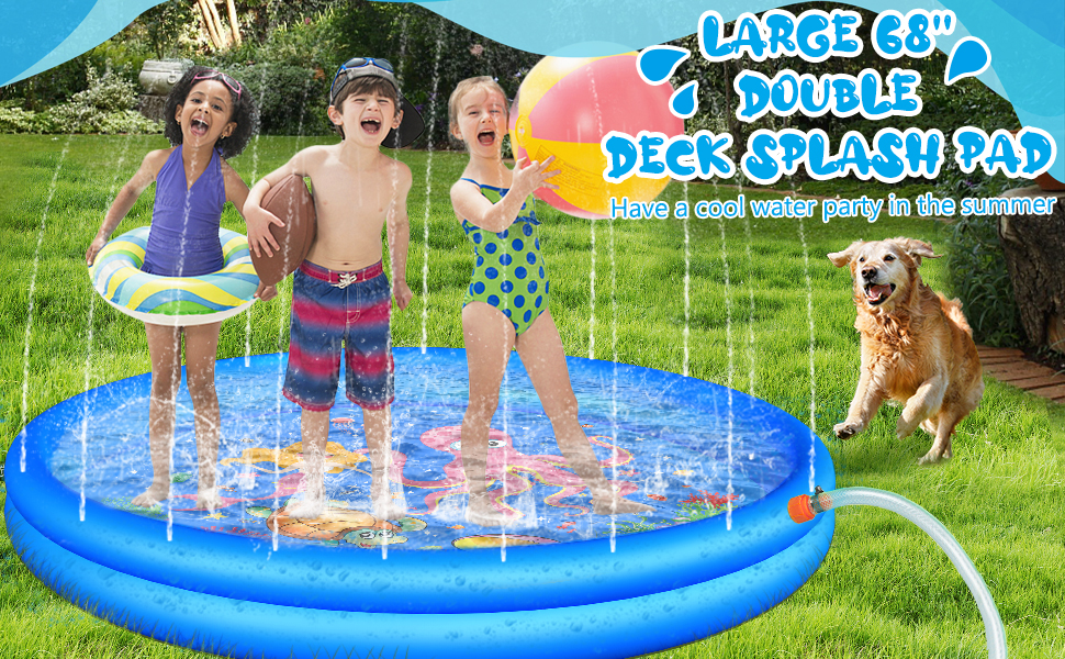 splash pads for toddlers 1-3