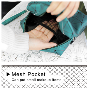 Built-in mesh pocket