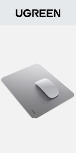 Aluminum Mouse Pad Hard Metal Mouse Mat
