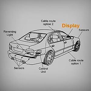 Parking Assist Sensor OEM Reverse Bumper Sensor 89341-30021 fit for 2006 Lexus GS300,07-11 Lexus GS350//GS450h,06-07 Lexus GS430,08-11 Lexus GS460,08-11 Lexus is F OCPTY Bumper Backup Sensor