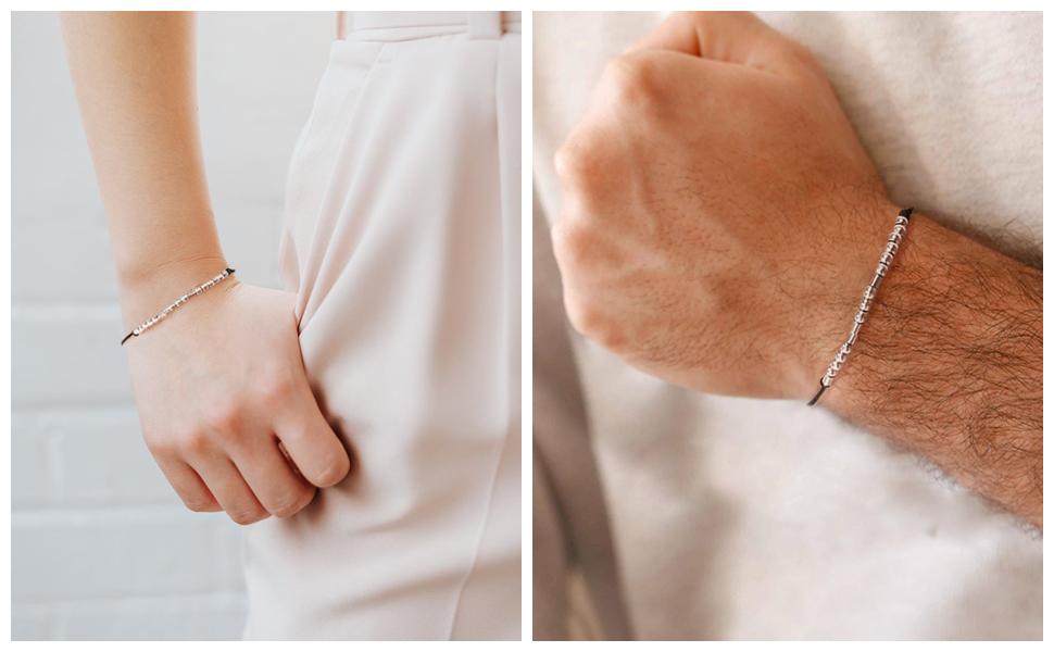 Morse Code Bracelet Unique Gifts for Friends