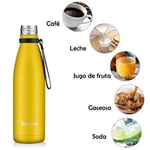 botella agua acero inoxidable