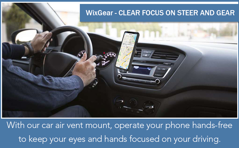 Upgraded Car Air Vent Magnetic Mount