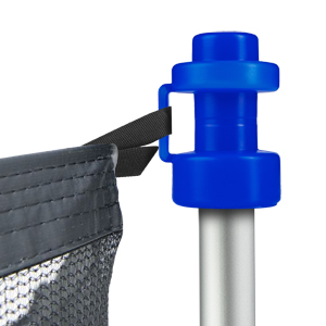 Geschikt voor bijna alle tuintrampolines met een diameter van 25 mm, met veiligheidsnet