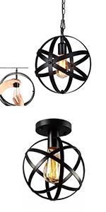 Wiklinowa lampa rattanowa