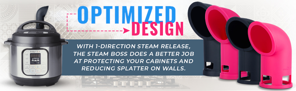 Amazon.com: The Steam Boss - Steam Release Diverter