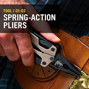 Leatherman OHT, Leatherman Multitool, Multipurpose Tool, Spring-Action Pliers, OHT Multitool