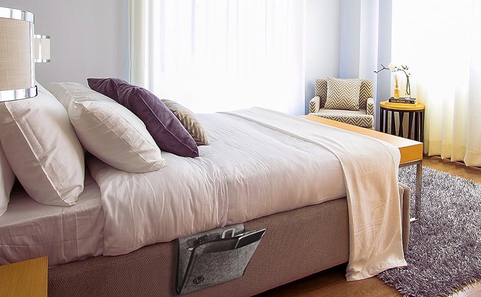 Bedside Caddy Bed Caddy Bed Pockets Organizer Hanging Organizer Bedside Storage Organizer