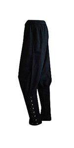 Ankle banded pants