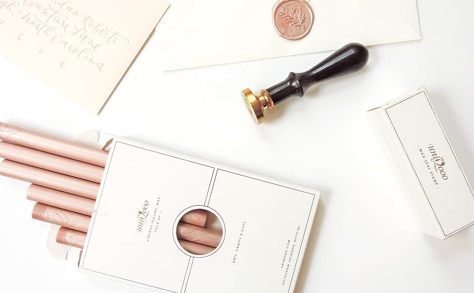 wax seal stamp sealing wax sticks wedding arts crafts invitations