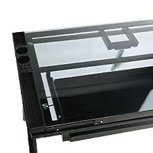 drafting table for designer black