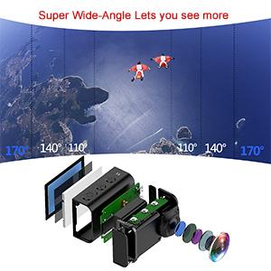 170°Super Wide-Angle