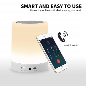 LED Touch Lamp Bluetooth Speaker