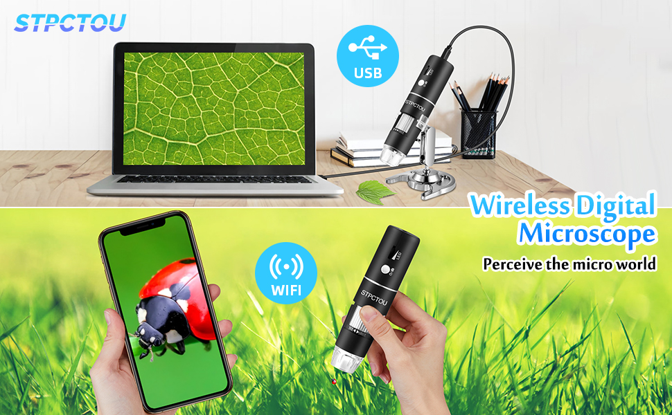 Wireless Digital Microscope