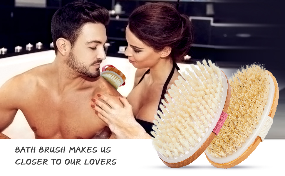 Dry brush makes us closer to our lovers, give you a different experience.