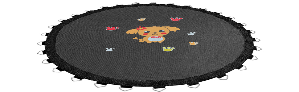 PP bouncing mat